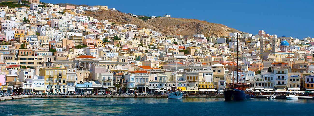 Port of Syros