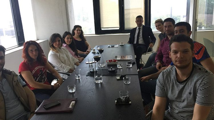 ΕΠΙΣΚΕΨΗ φοιτητών του Τμήματος Πολιτικών Μηχανικών του Α.Π.Θ. στην North Aegean Slops Α.Ε.