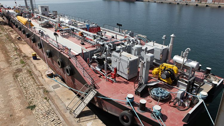 ΕΠΙΣΚΕΨΗ Υπουργού Γεωργίας, Αγροτικής Ανάπτυξης και Περιβάλλοντος της Κύπρου κ. Νίκου Κουγιάλη στις εγκαταστάσεις της North Aegean Slops SA, στο λιμάνι της Θεσσαλονίκης