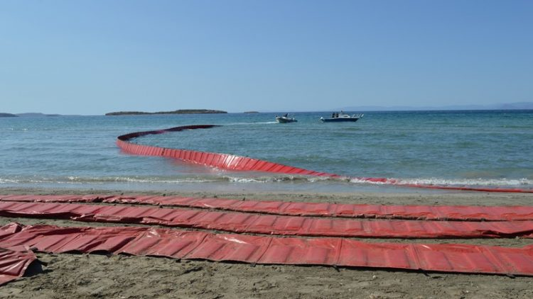 "Prevention of oil pollution on the coasts of the Municipality of Vari – Voula – Vouliagmeni due to the sinking of the oil tanker ""AGIA ZONI II"""