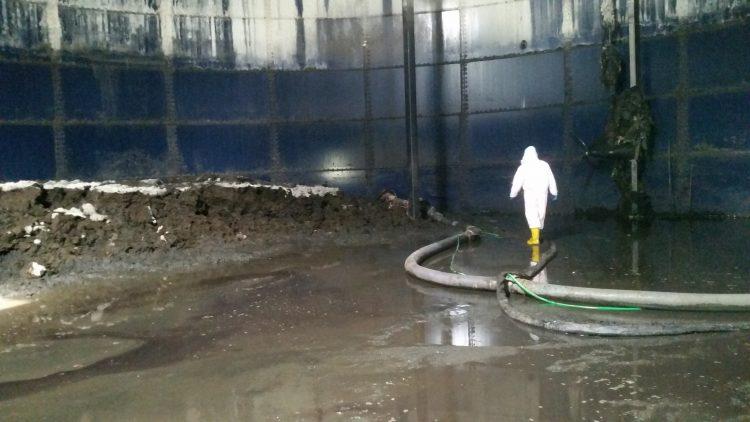 Ολοκληρωμένες Υπηρεσίες Εσωτερικού Καθαρισμού Δεξαμενών Βιοαερίου
